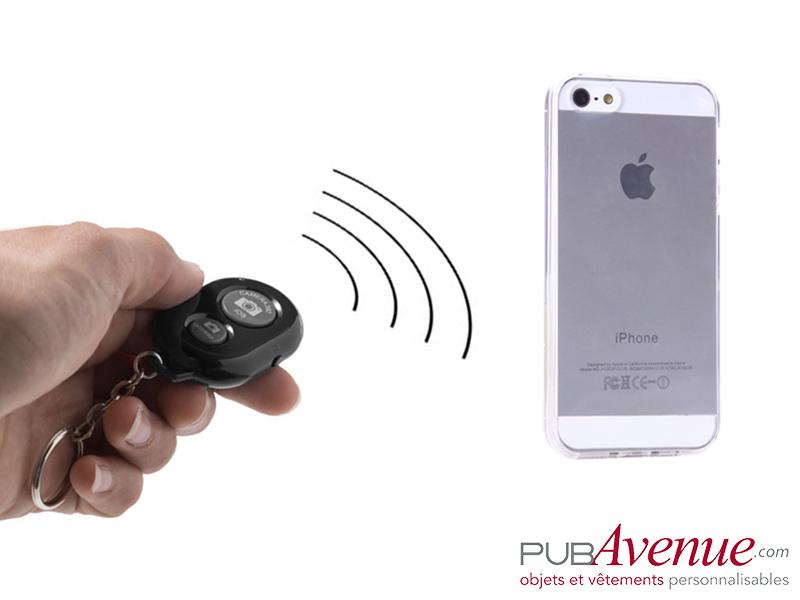 Déclencheur photo à distance personnalisé Bluetooth