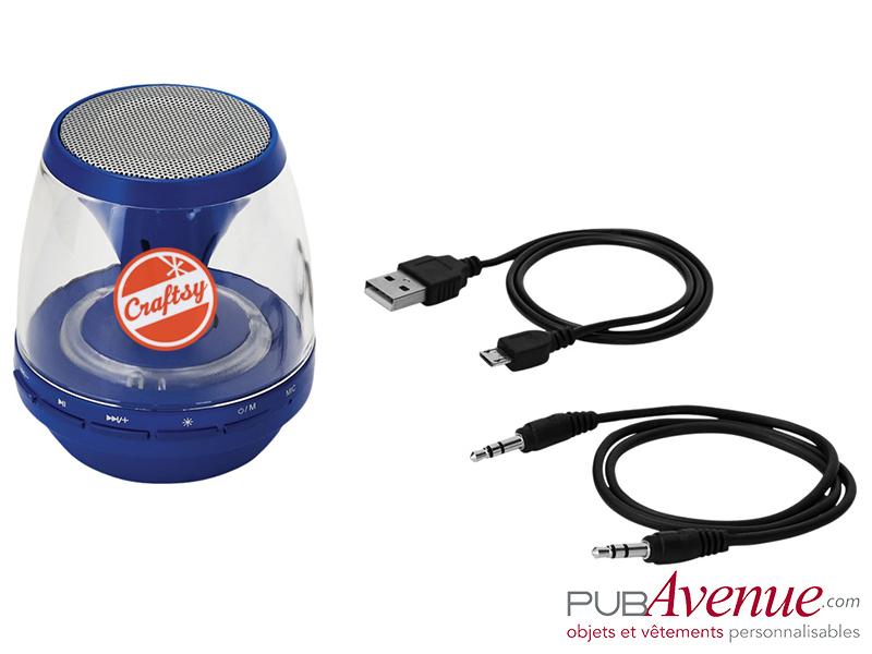 Enceinte LED publicitaire Bluetooth