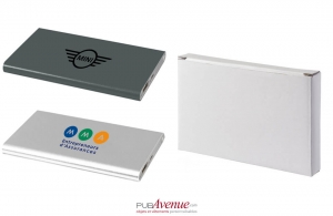 Batterie externe de secours powerbank plat 4000 mAh