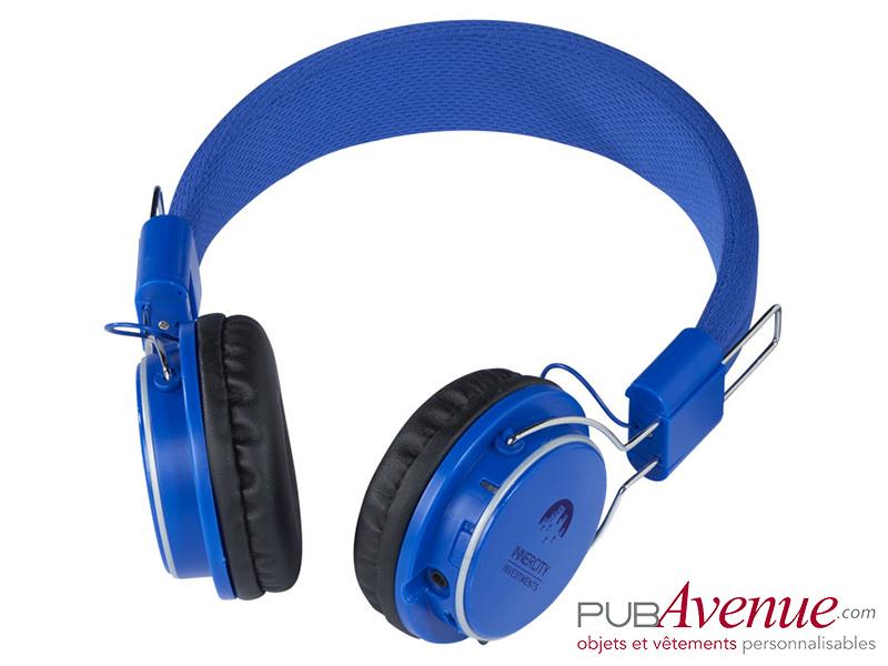 Casque audio personnalisé bluetooth