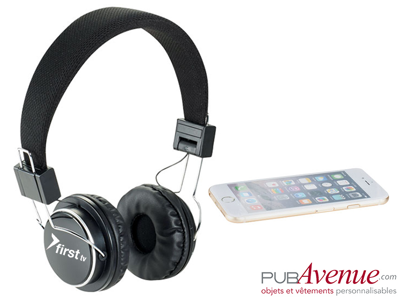 Casque audio bluetooth personnalisable