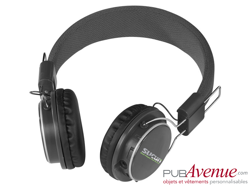 Casque audio bluetooth publicitaire