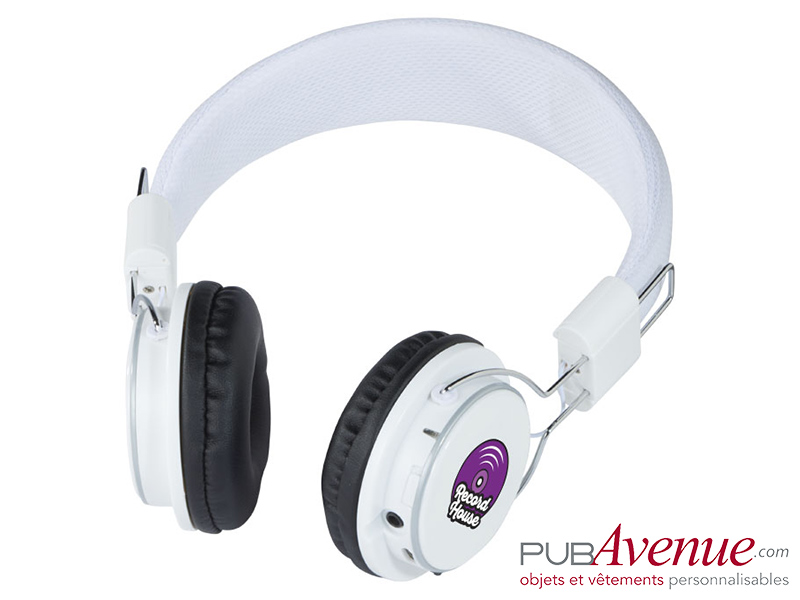 Casque audio personnalisable bluetooth