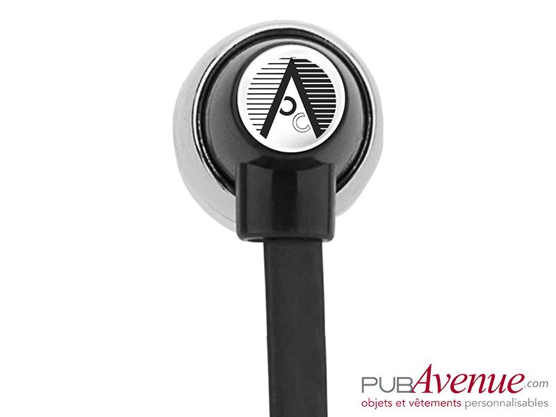 Écouteurs audio bluetooth personnalisables