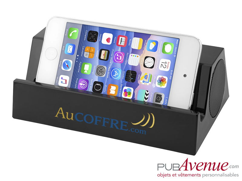 Haut-parleur support publicitaire Bluetooth