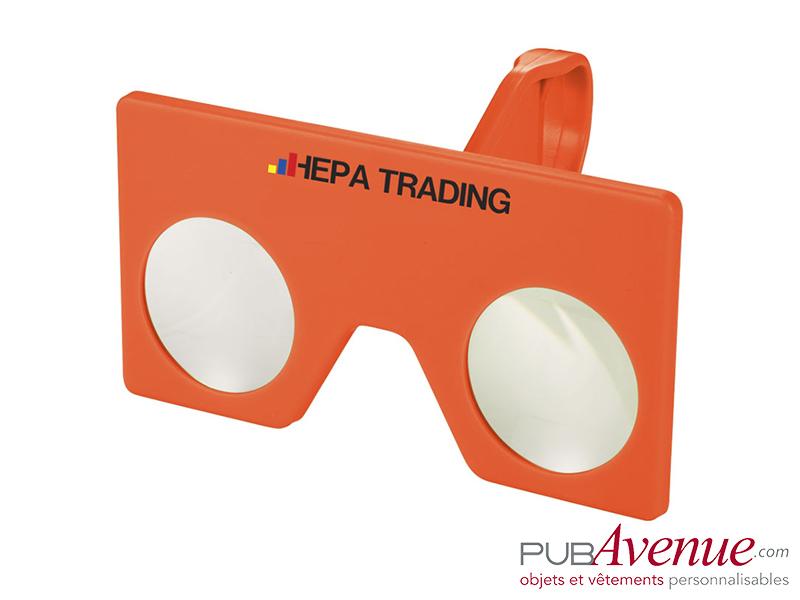 Mini lunettes réalité virtuelle à personnaliser