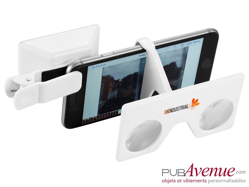 Kit lentilles personnalisables réalité virtuelle