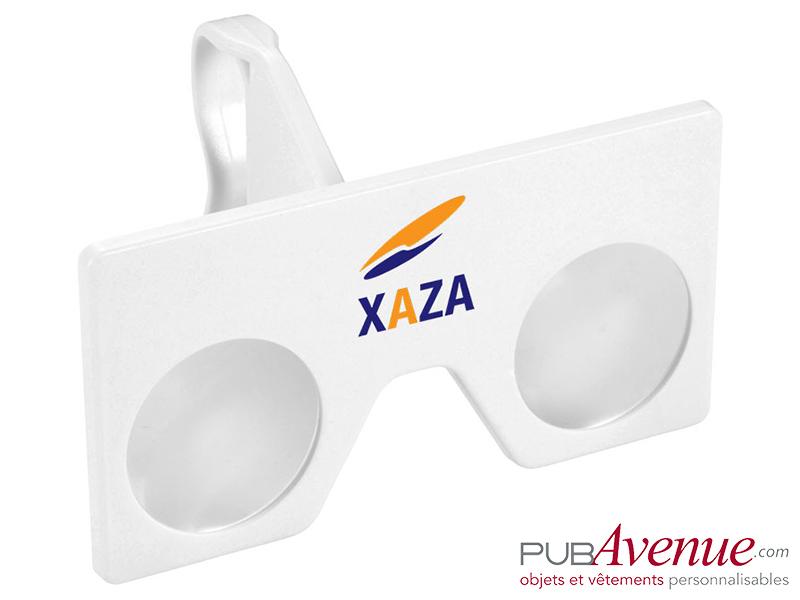 Kit lentilles réalité virtuelle publicitaire