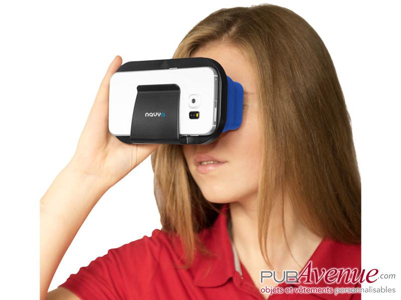Paire lunettes pliables réalité virtuelle personnalisables