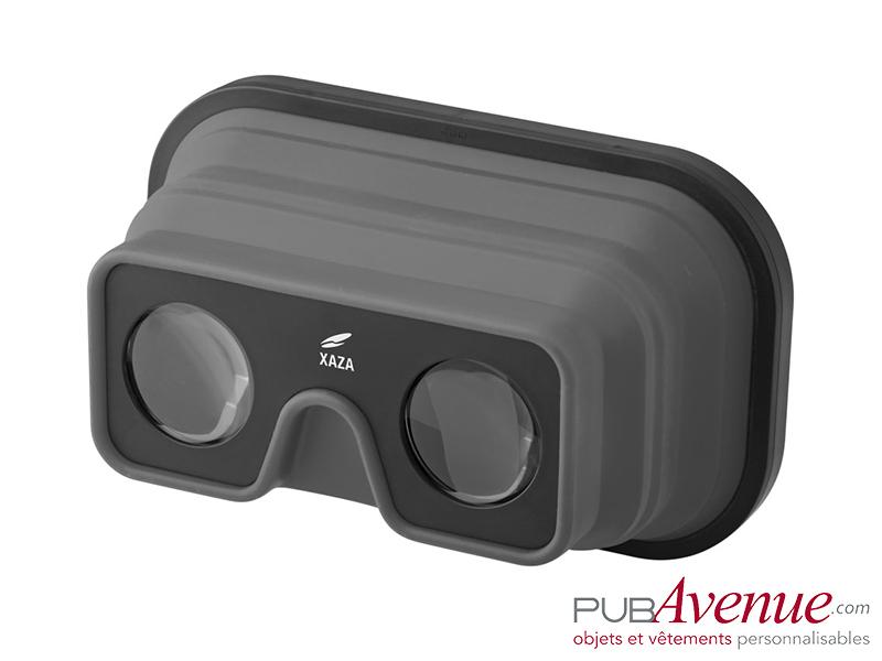 Lunettes pliables réalité virtuelle personnalisées