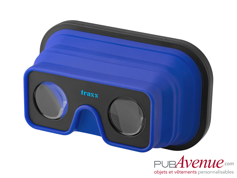 Lunettes pliables réalité virtuelle personnalisables