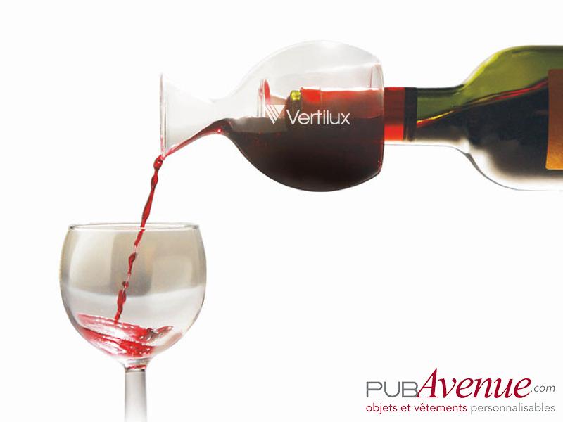 Décanteur vin personnalisable