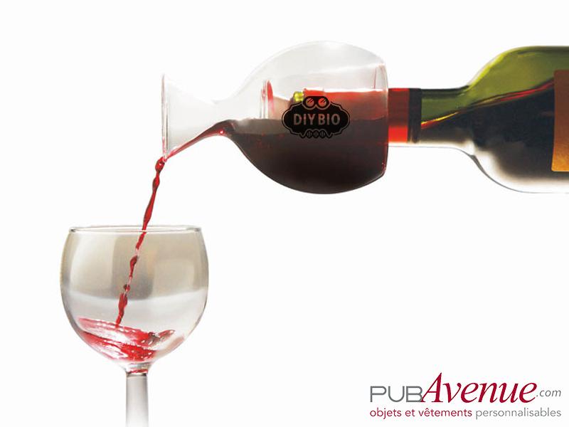 Décanteur vin publicitaire