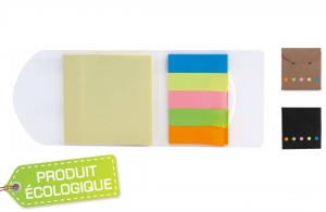 Bloc de 125 post-it en carton recyclé