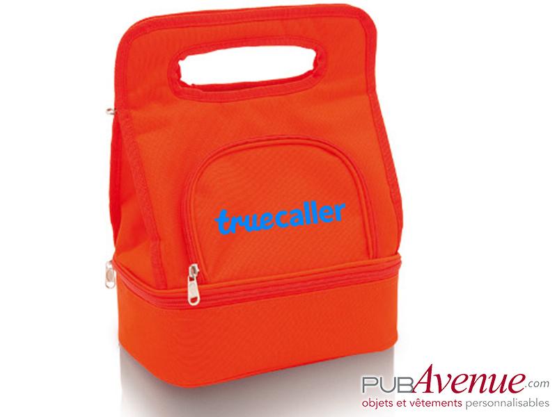 Sac glacière transport lunch box personnalisé