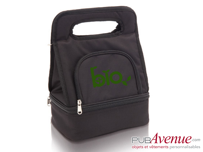 Sac glacière personnalisable transport lunch box