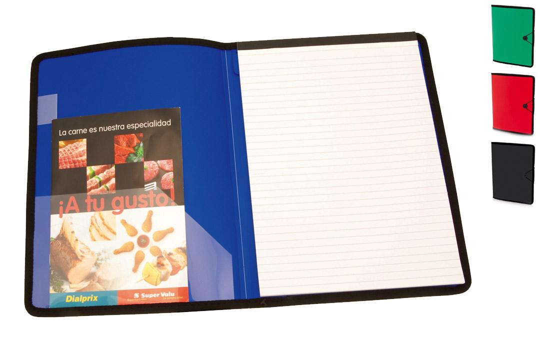 Porte Folio Personnalisé Conférencier Bloc Note Publicitaire Pas Cher - Porte document personnalisé