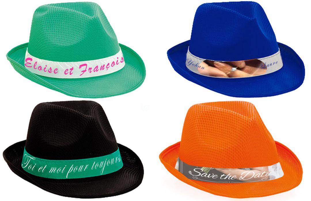 chapeau personnalis pour mariage cadeau invit s pas cher. Black Bedroom Furniture Sets. Home Design Ideas
