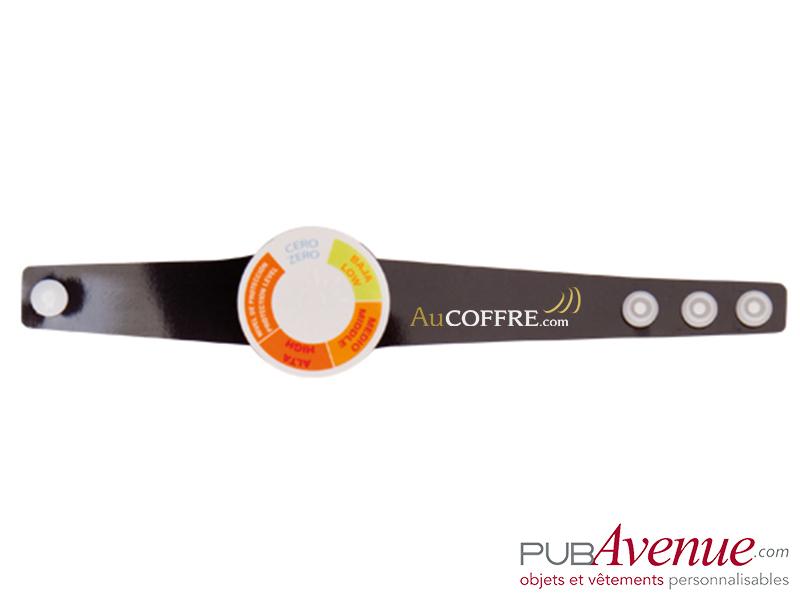 Bracelet personnalisé indicateur UV