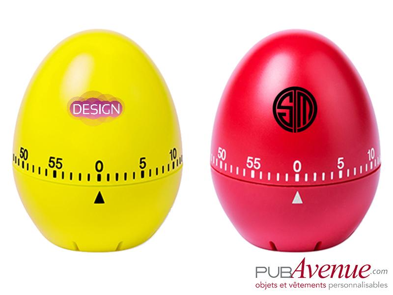 Minuteur personnalisé œuf