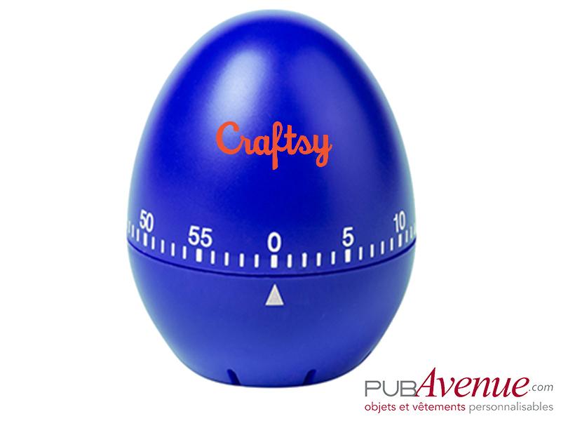 Minuteur œuf personnalisé