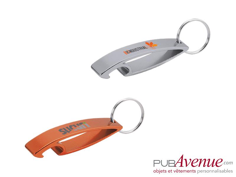Décapsuleur porte clés personnalisé