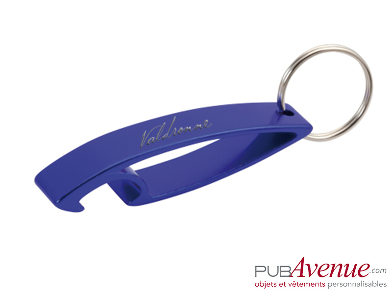 Décapsuleur porte clés personnalisable