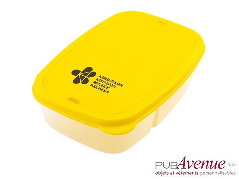 Boîte repas personnalisable avec couverts