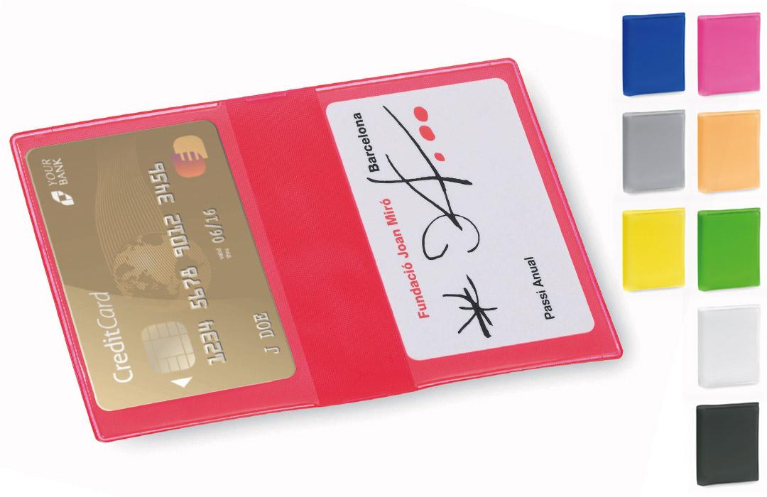 Porte Cartes Bancaires En PVC Letrix A Personnaliser