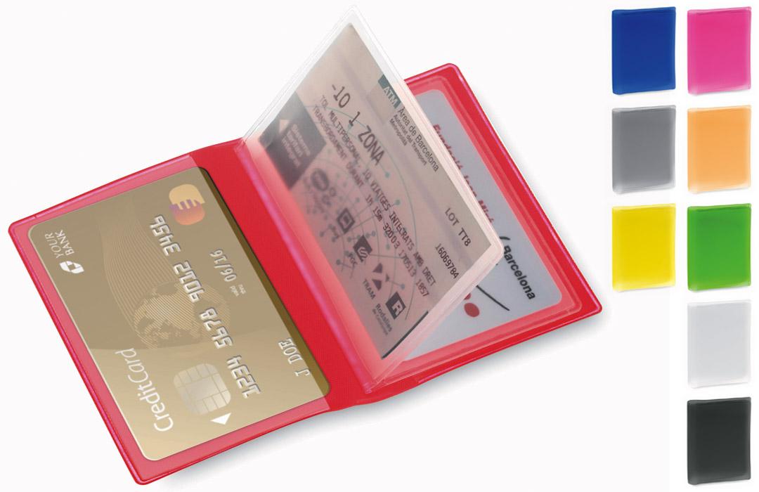 plus de photos 72860 3bd73 Porte multicartes bancaire vitale fidélité