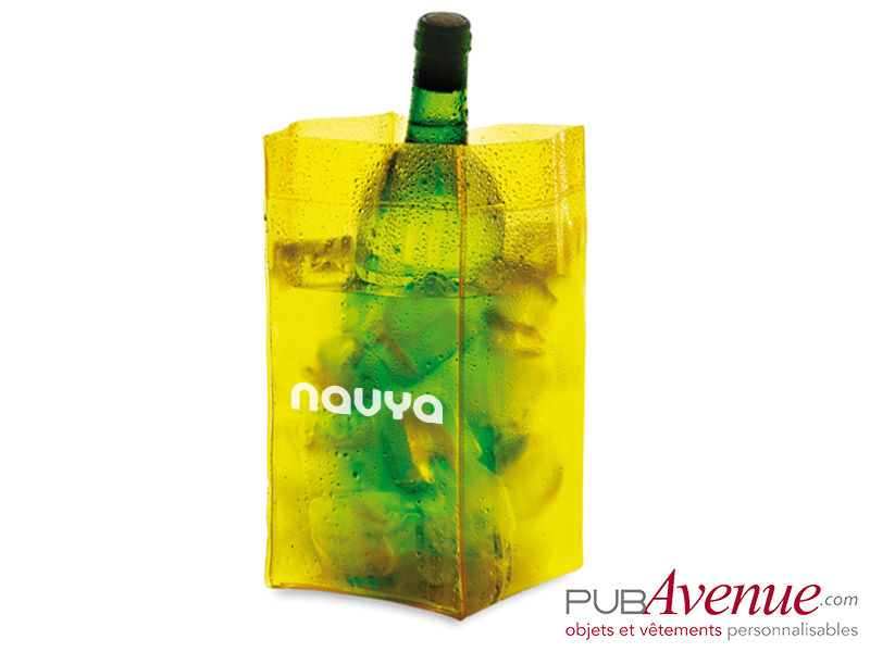Sac glaçon pour bouteille personnalisable