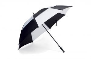 Parapluie golf bicolore anti-vent 135 cm