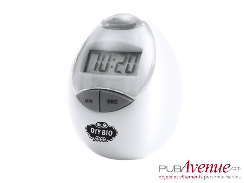 Minuteur chronomètre publicitaire cuisine