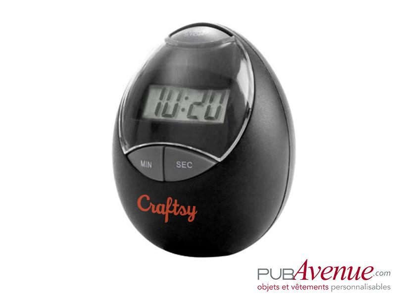 Minuteur chronomètre personnalisé cuisine