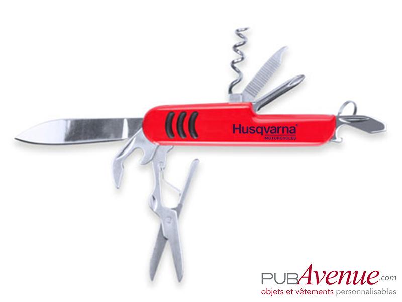 Couteau canif personnalisable 9 fonctions