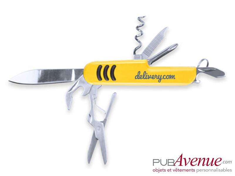 Couteau canif publicitaire 9 fonctions