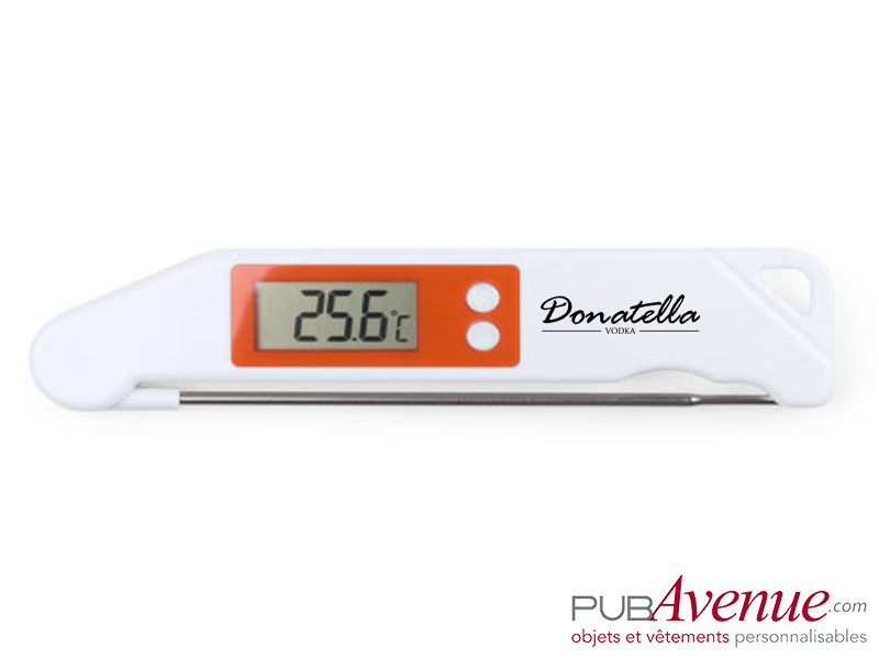 Thermomètre cuisine digital personnalisé