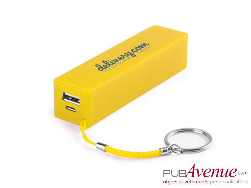Batterie nomade 2000mAh personnalisable