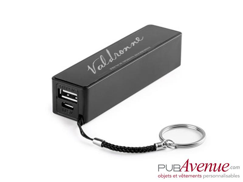 Batterie nomade personnalisable 2000mAh