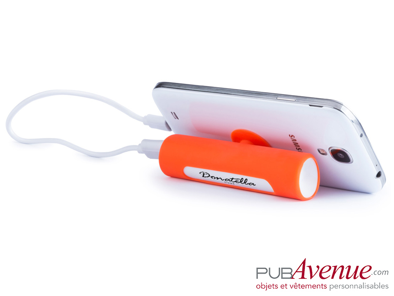 Batterie externe publicitaire ventouse 2200mAh
