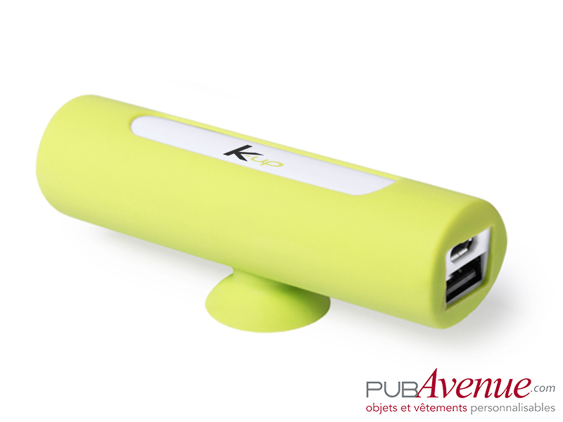 Batterie externe personnalisable ventouse 2200mAh