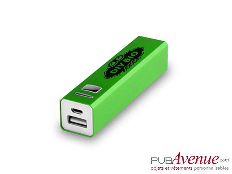 Chargeur externe personnalisable téléphone 2200mAh