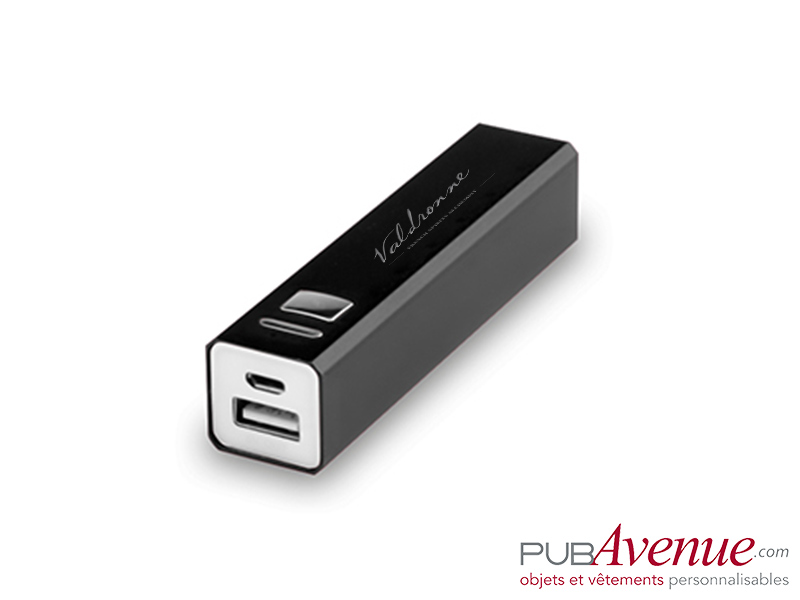 Chargeur externe téléphone 2200mAh personnalisable