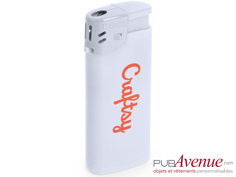 Briquet rechargeable publicitaire
