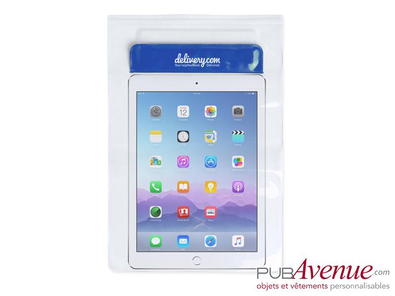 Pochette plage étanche personnalisable pour tablette