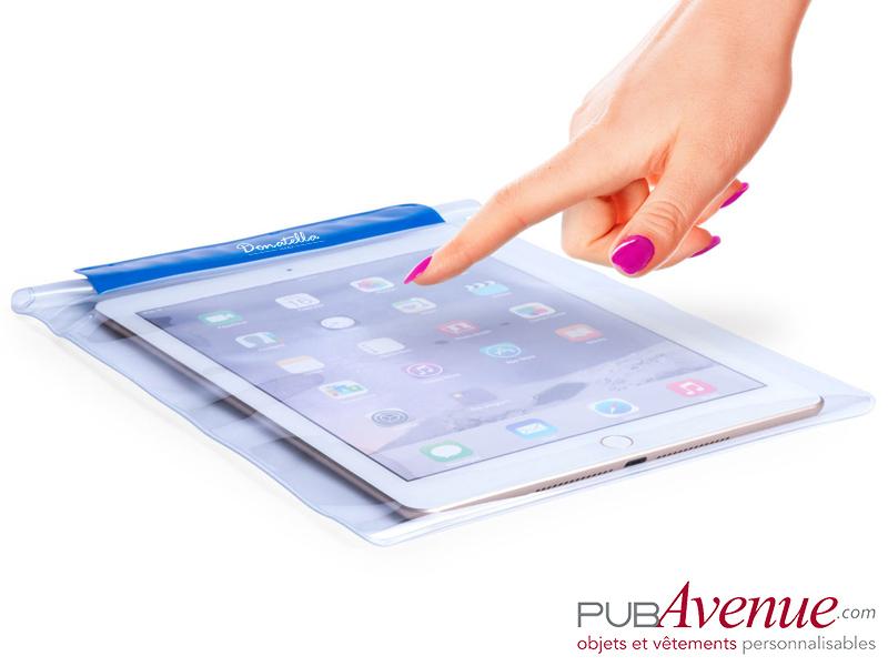 Pochette plage étanche personnalisée pour tablette