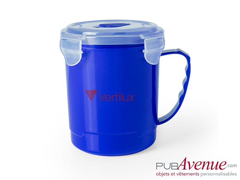 Tasse soupe personnalis e couvercle refermable marquage for Lunch box pas cher