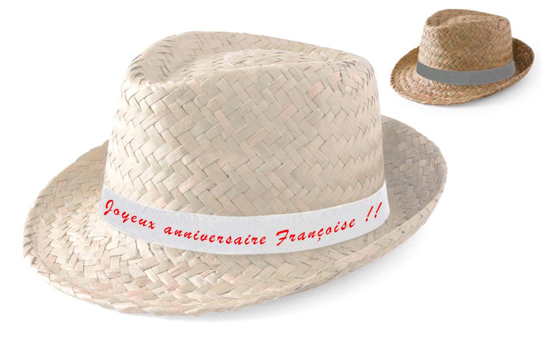 Anniversaire Paille Chapeau Personnalisé Cadeau Pas Cher Y7yb6gfv