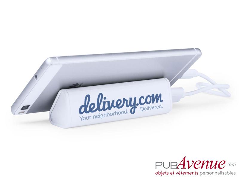 Chargeur externe portable 2200mAh personnalisable