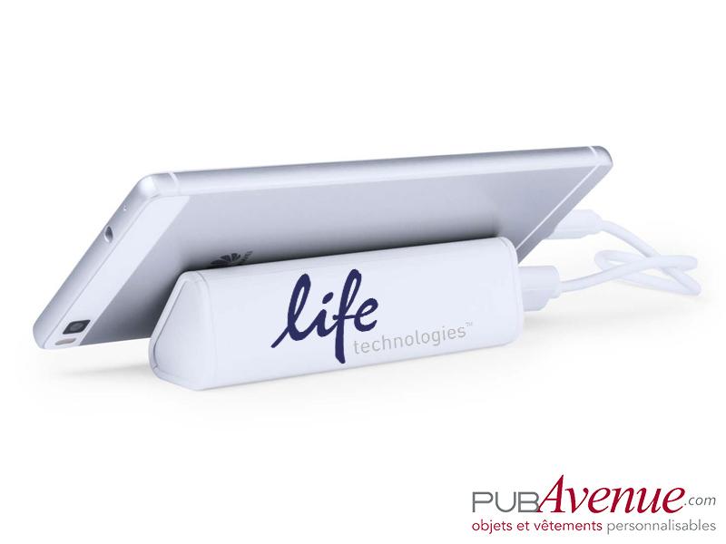 Chargeur externe personnalisable portable 2200mAh